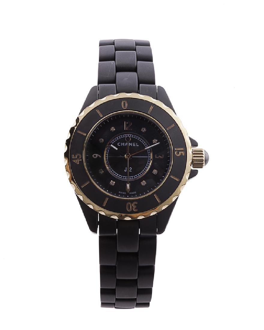 A Chanel J12 wristwatch