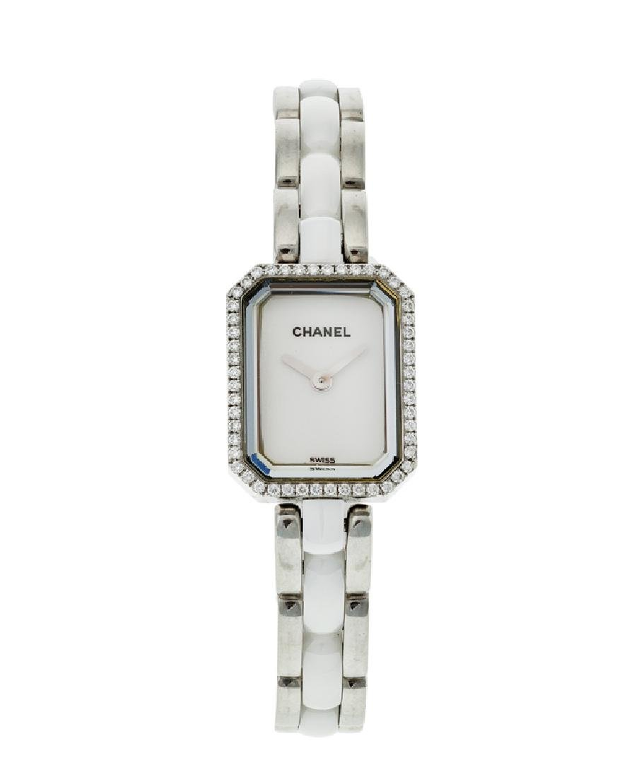 A Ladies Chanel Premiere wristwatch