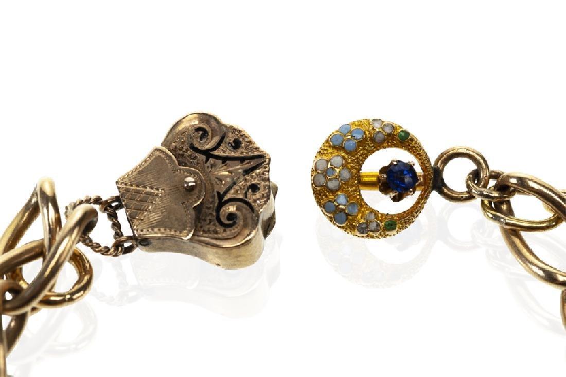 A charm bracelet - 3