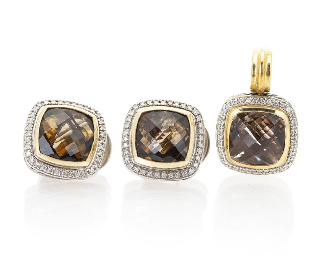 A set of diamond and gemstone jewelry, David Yurman