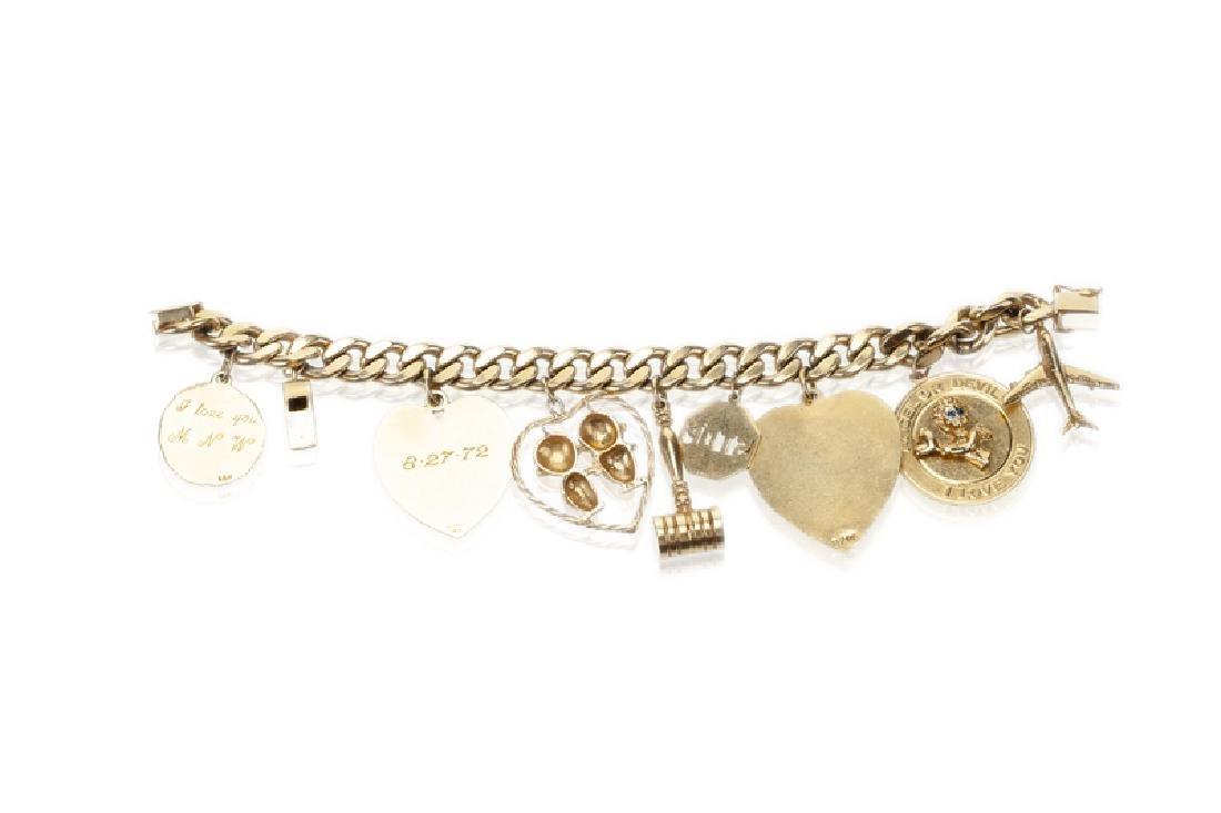 A charm bracelet - 2