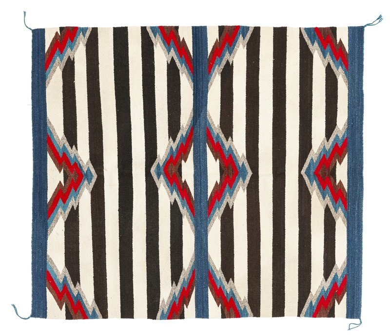 A Navajo third phase chief's blanket-style rug - 2