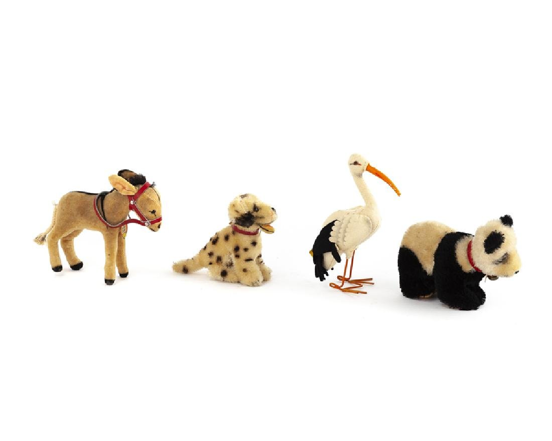 Four Steiff stuffed animals - 2