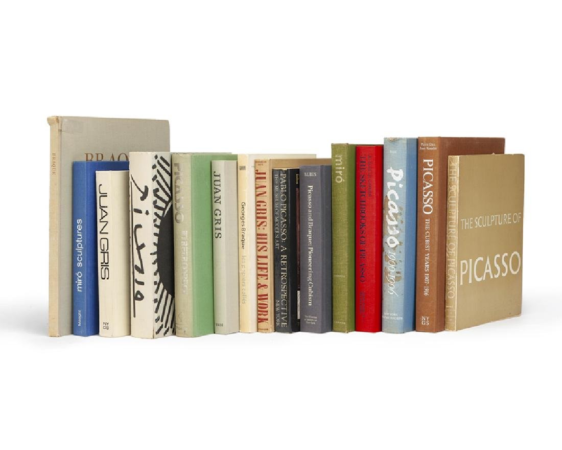 Fifteen books on various artists
