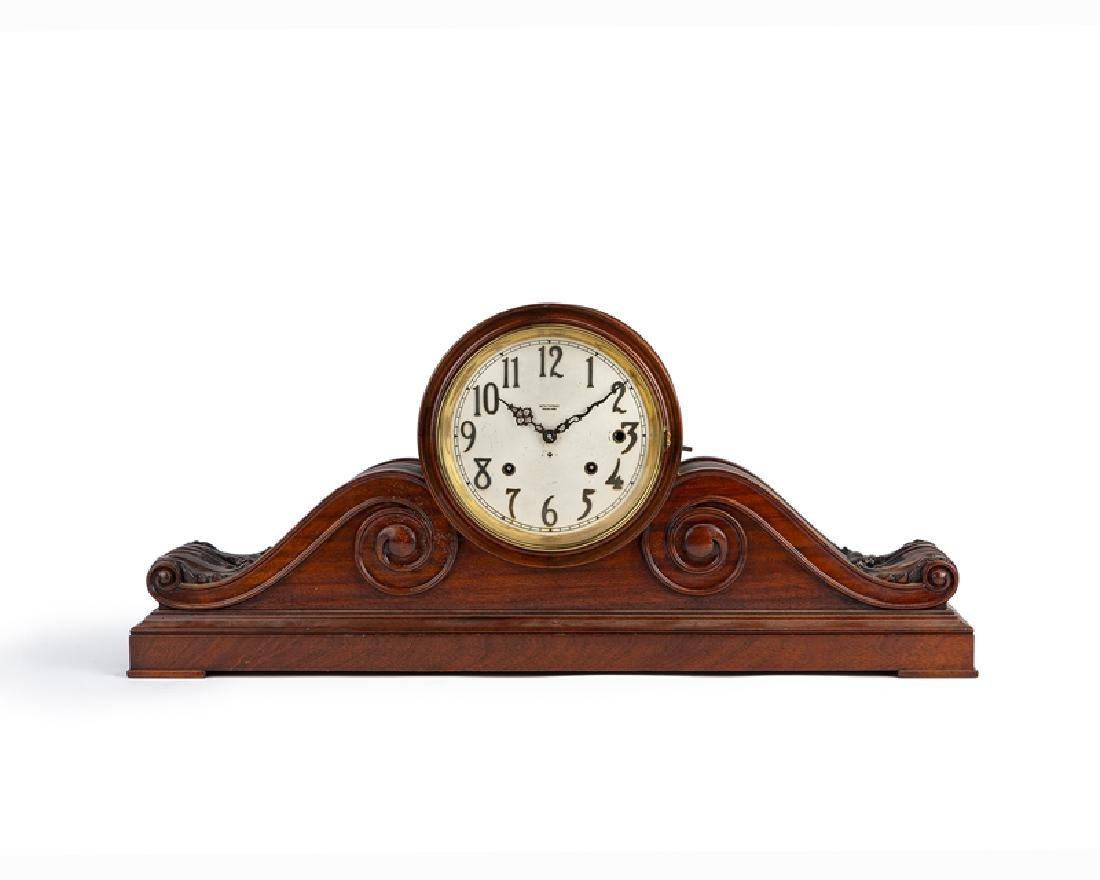 A mahogany Seth Thomas Sonora Chime mantel clock