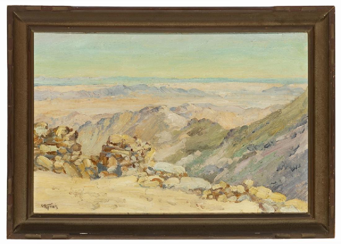 Charles Arthur Fries (1854 - 1940 San Diego, CA) - 2