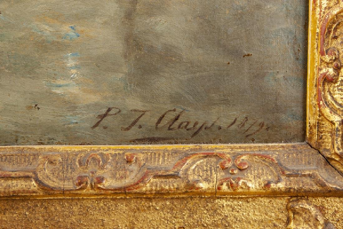 Paul Jean Clays (1819 - 1900 Belgian) - 3