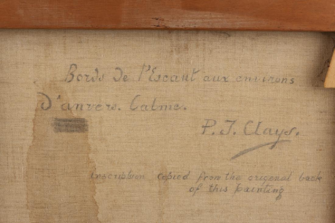 Paul Jean Clays (1819 - 1900 Belgian) - 6