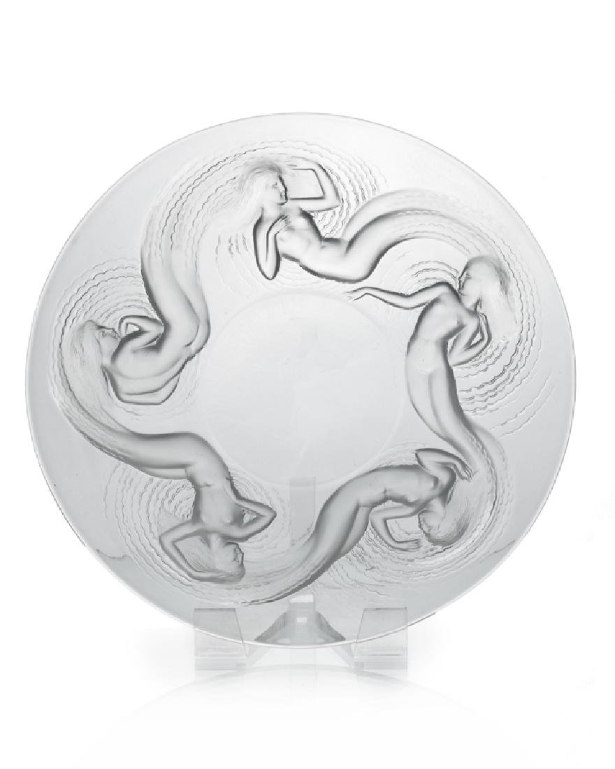 A Lalique ''Calypso'' art glass bowl