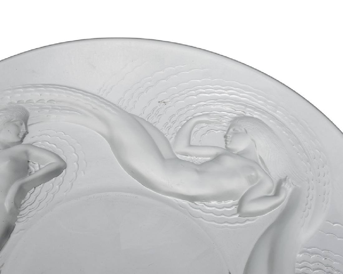 A Lalique ''Calypso'' art glass bowl - 2