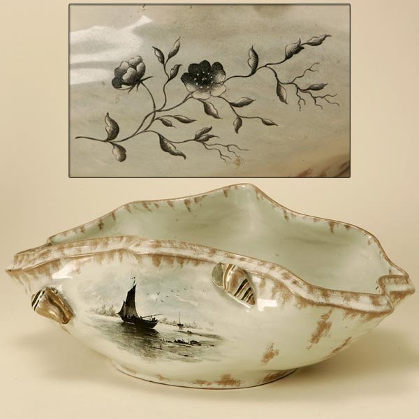 2012: AN EMILE GALLE NANCY FAIENCE BOWL
