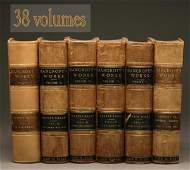 2160: 38 LEATHER-BOUND BOOKS- BANCROFT'S WORKS