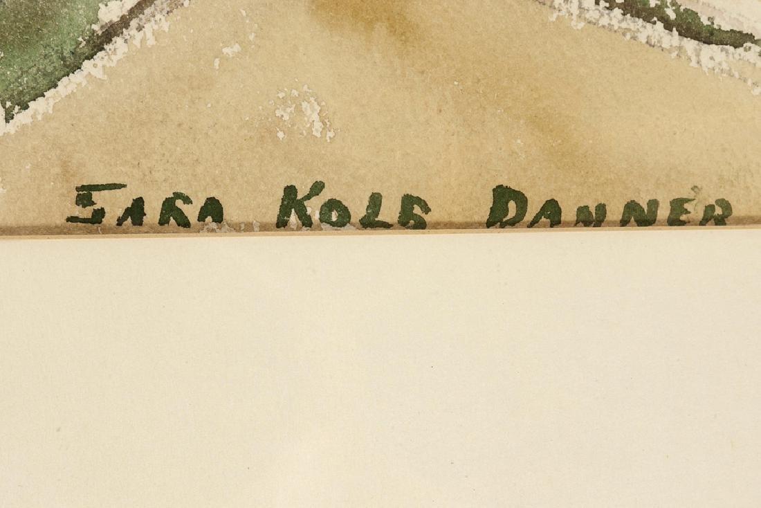 Sara Kolb Danner (1894 - 1969 Santa Barbara, CA) - 3