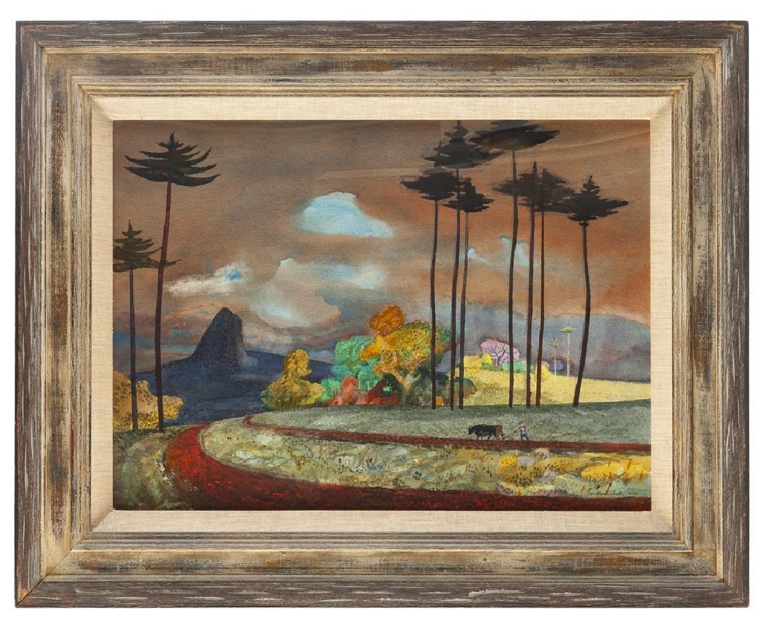 Millard Owen Sheets NA (1907 - 1989 Gualala, CA) - 2