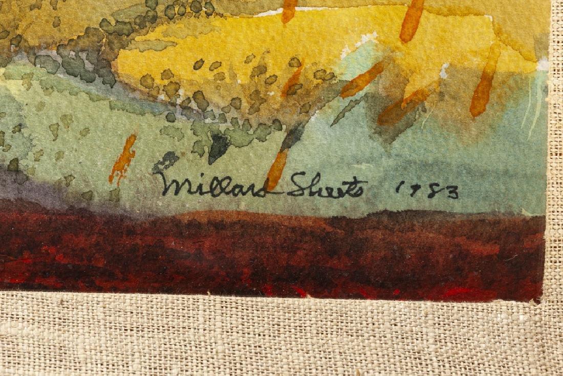 Millard Owen Sheets NA (1907 - 1989 Gualala, CA) - 3