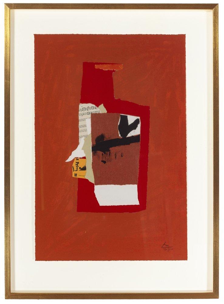 Robert Motherwell (1915 - 1991 American) - 3
