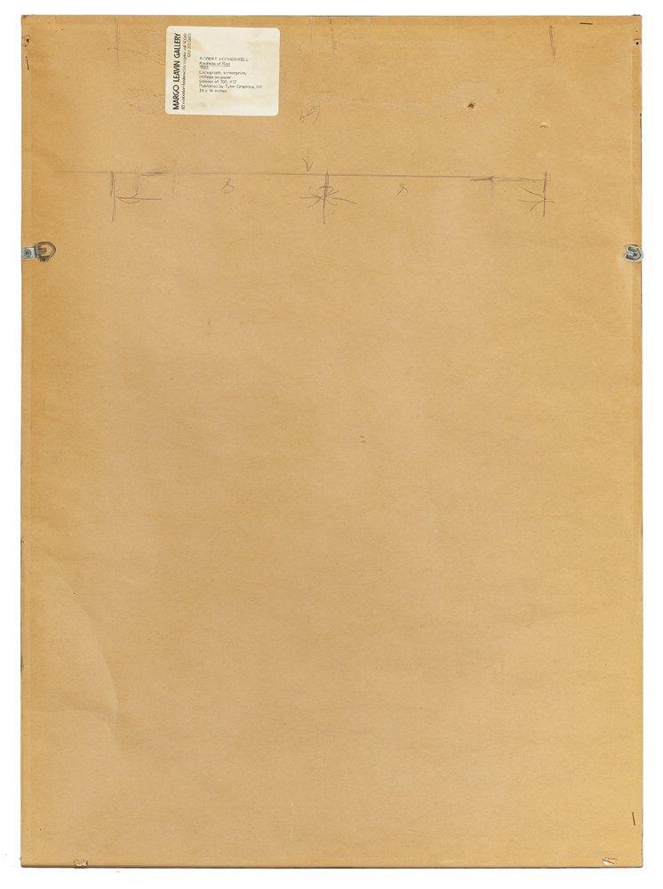 Robert Motherwell (1915 - 1991 American) - 5