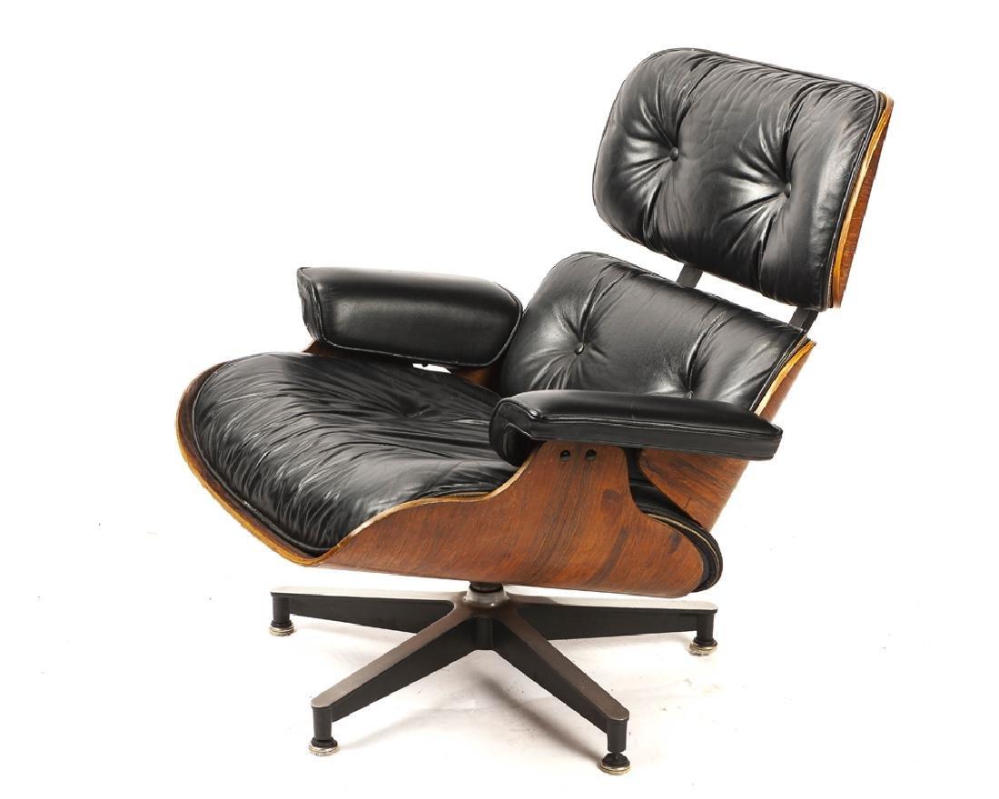 An Eames/Herman Miller lounge chair 670