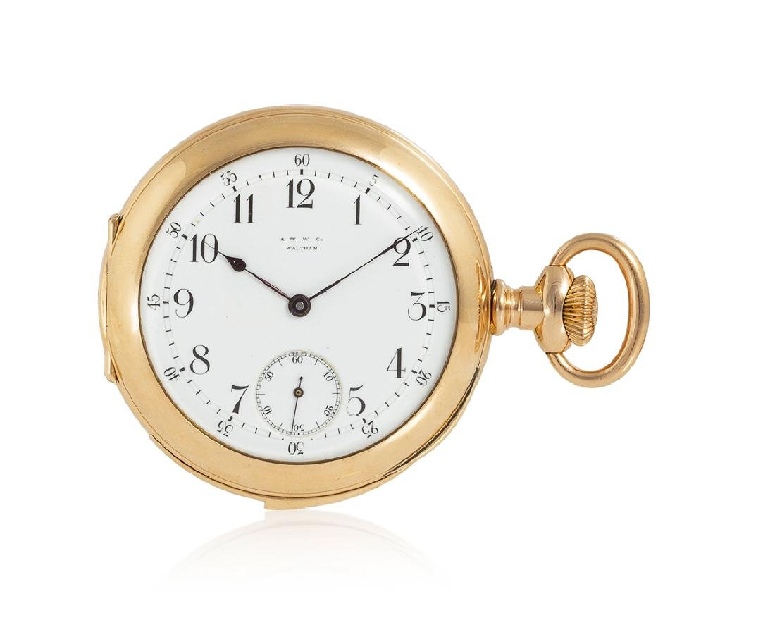 American Waltham Watch Co. repeating pocket watch