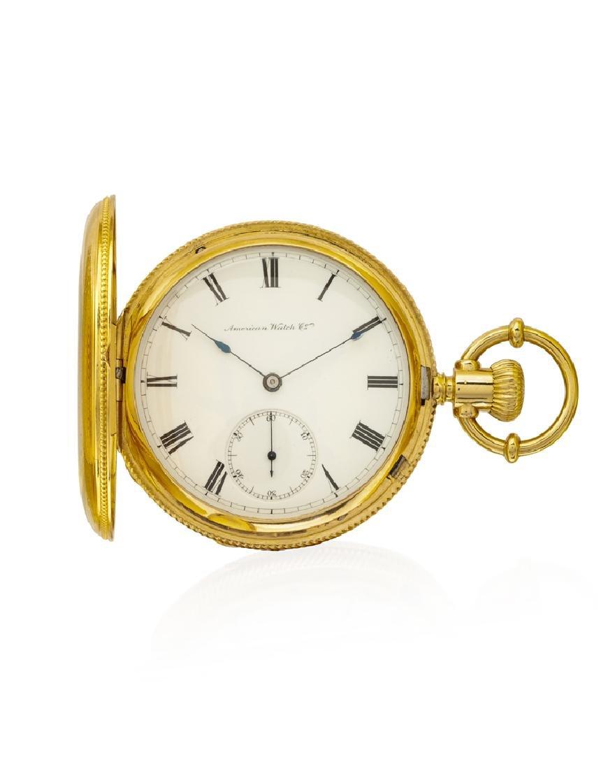 American Watch Co. pocket watch