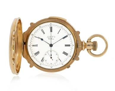 American Waltham Watch Co. chronograph and five-minute