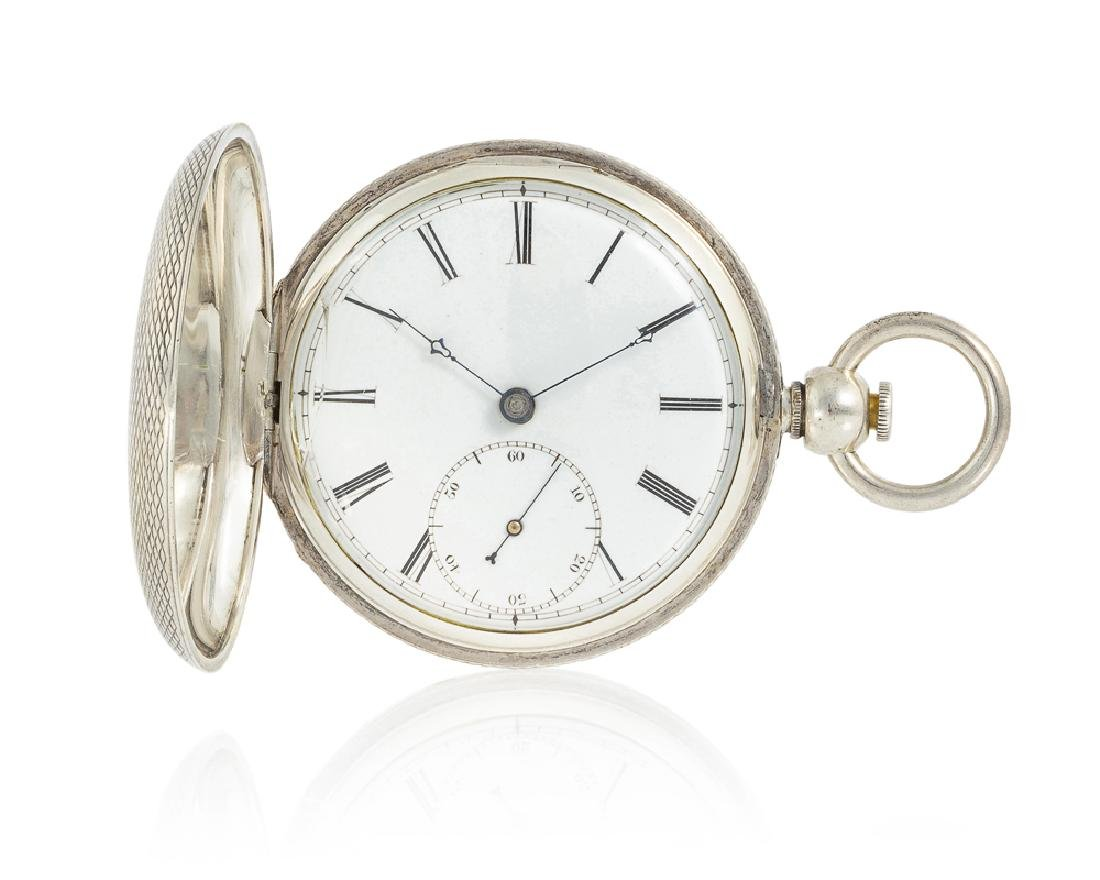 American Watch Co. C.T. Parker pocket watch