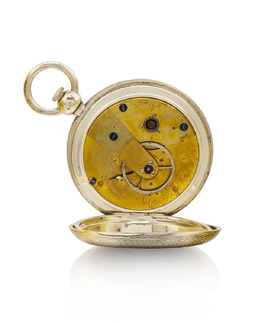 American Watch Co. C.T. Parker pocket watch - 2