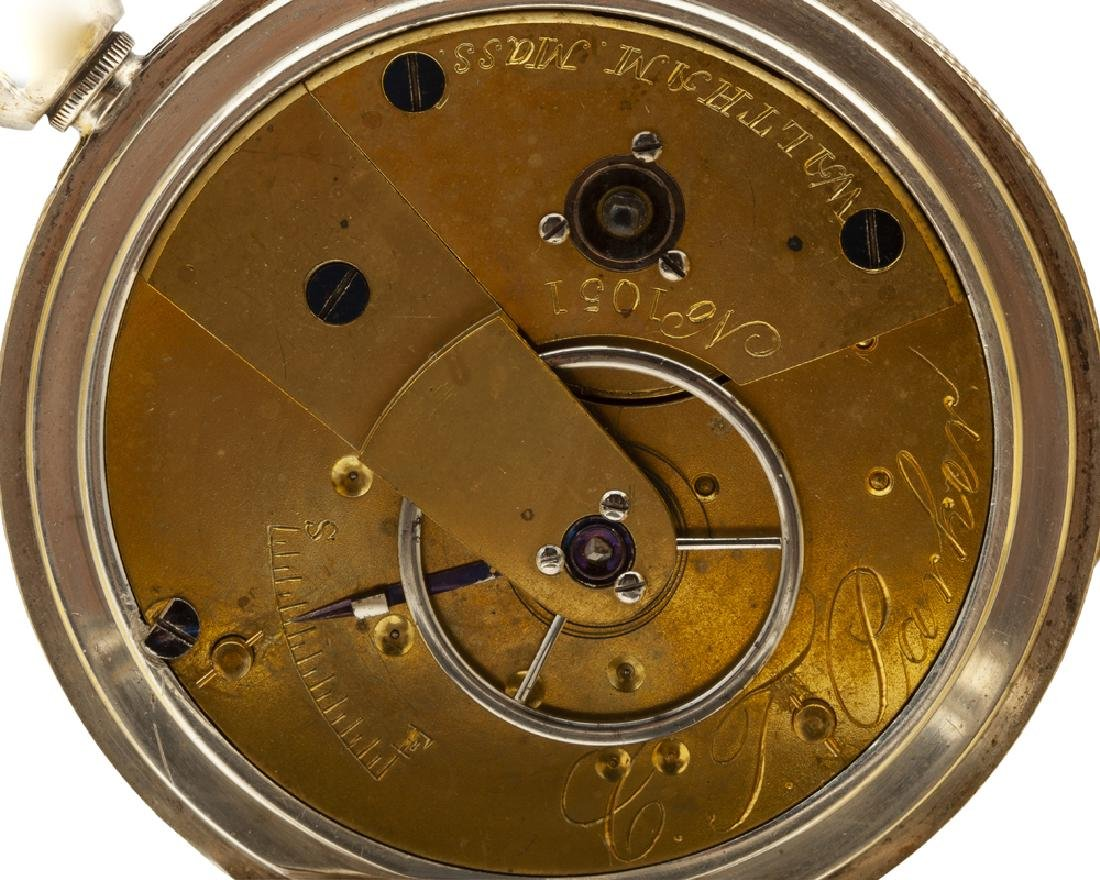 American Watch Co. C.T. Parker pocket watch - 5