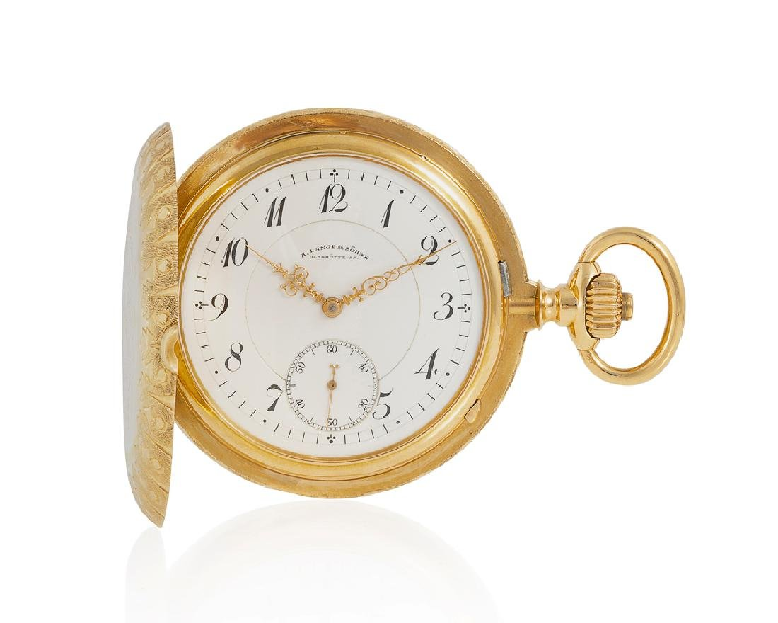A. Lange & Söhne Anchor Chronometer pocket watch