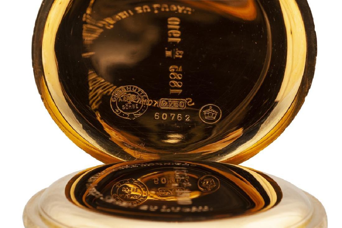 A. Lange & Söhne Anchor Chronometer pocket watch - 3