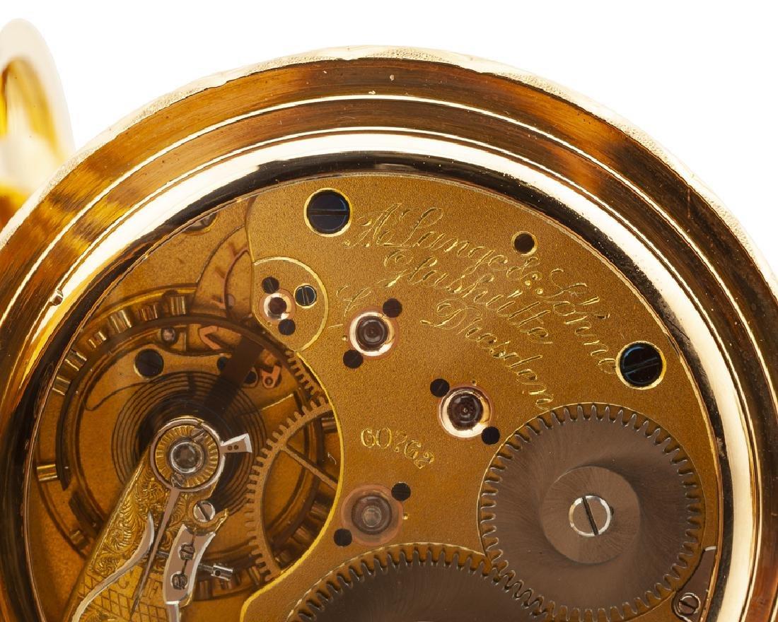 A. Lange & Söhne Anchor Chronometer pocket watch - 6