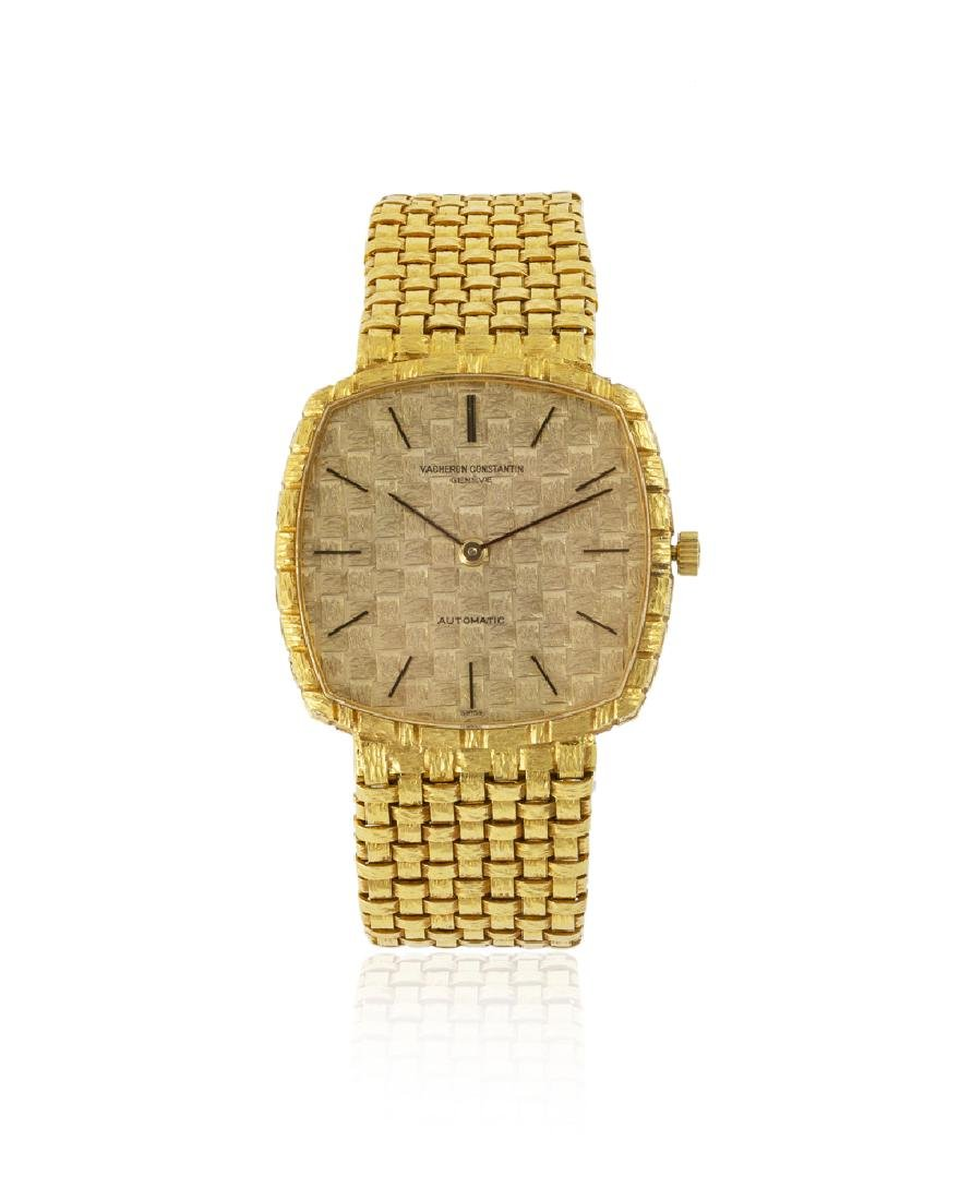 Vacheron Constantin 18K yellow gold wristwatch