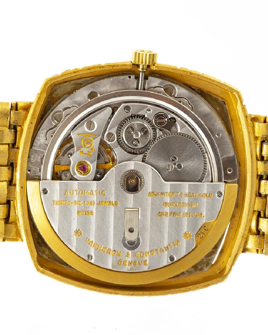 Vacheron Constantin 18K yellow gold wristwatch - 3