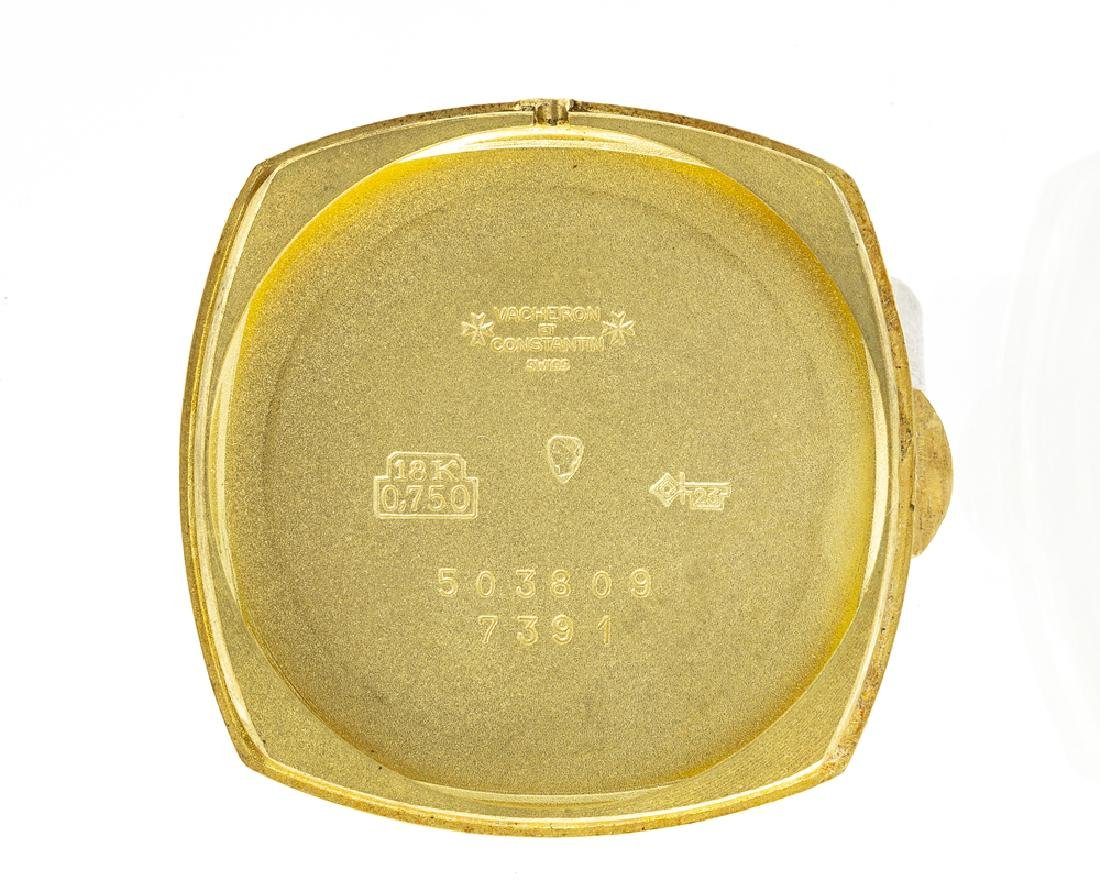 Vacheron Constantin 18K yellow gold wristwatch - 5