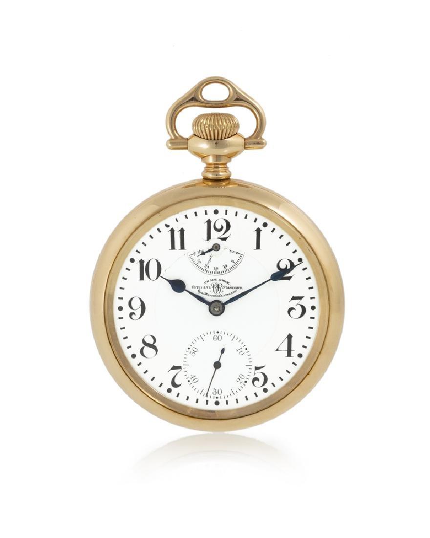 Ball Watch Co. Railroad Grade pocket watch