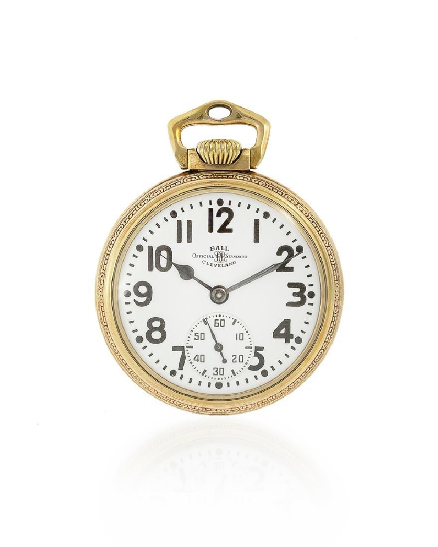 Ball & Co. Railroad Grade pocket watch