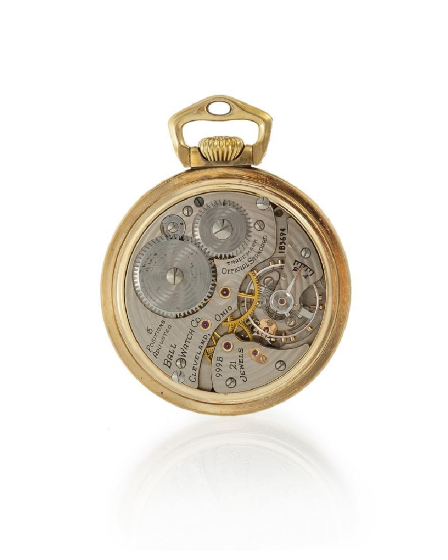Ball & Co. Railroad Grade pocket watch - 2