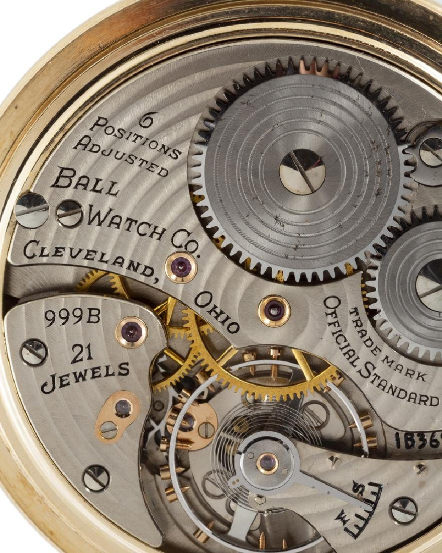 Ball & Co. Railroad Grade pocket watch - 4