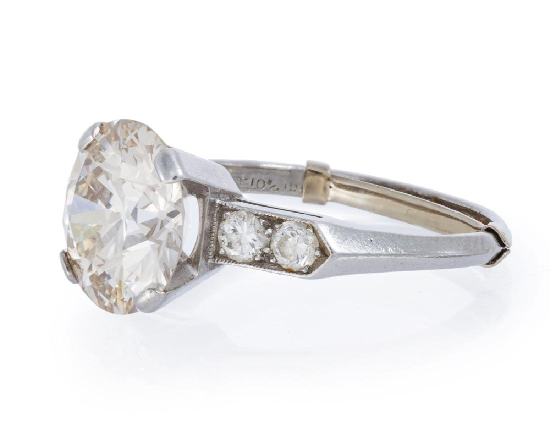 An Art Deco diamond ring - 2