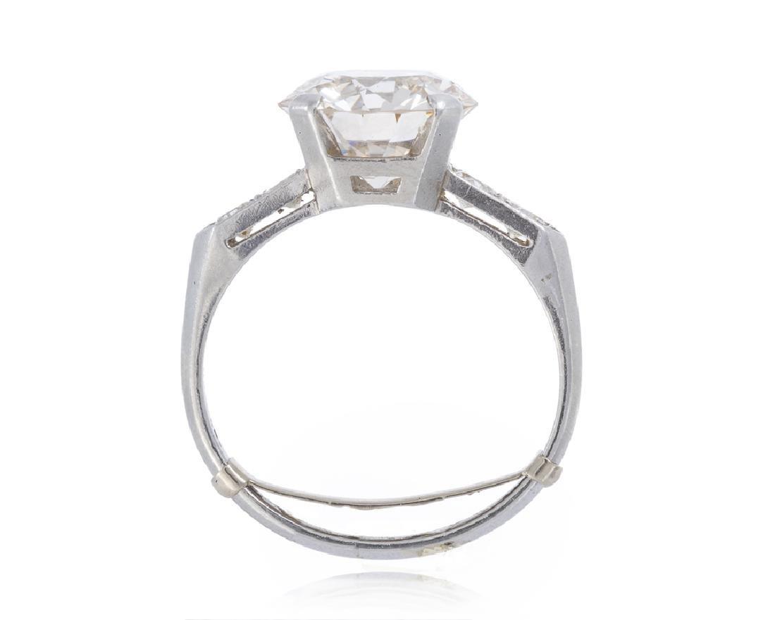An Art Deco diamond ring - 4