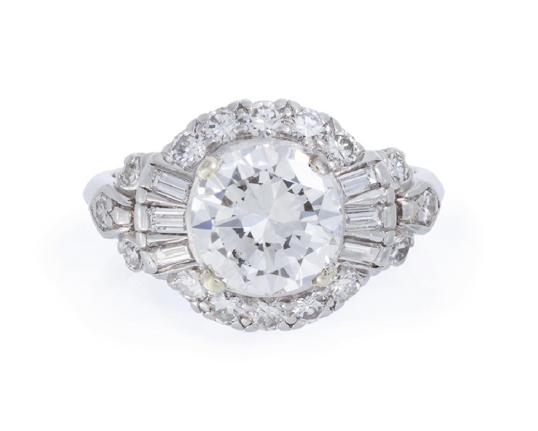 A diamond ring, Granat Bros