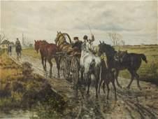 Jan Van Chelminski (1851-1925 New York, NY)