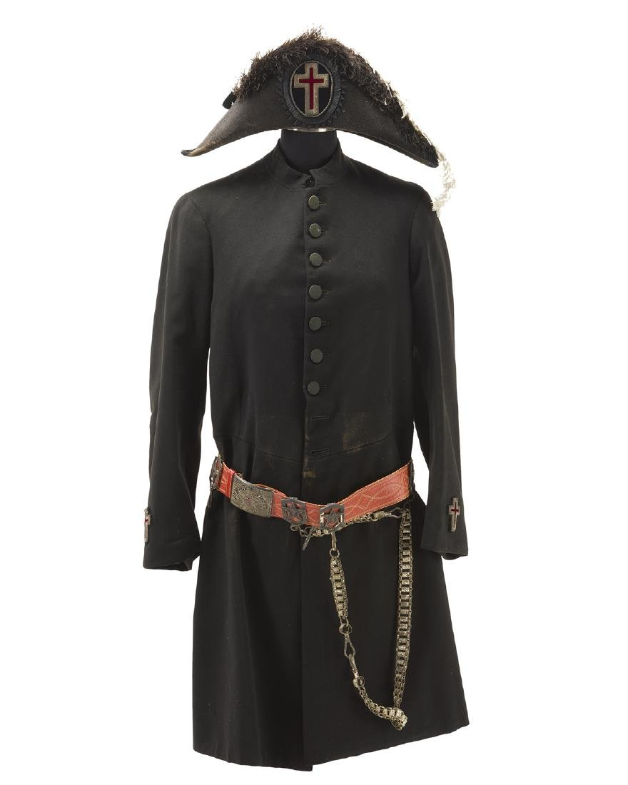 A York Rite Knights Templar outfit