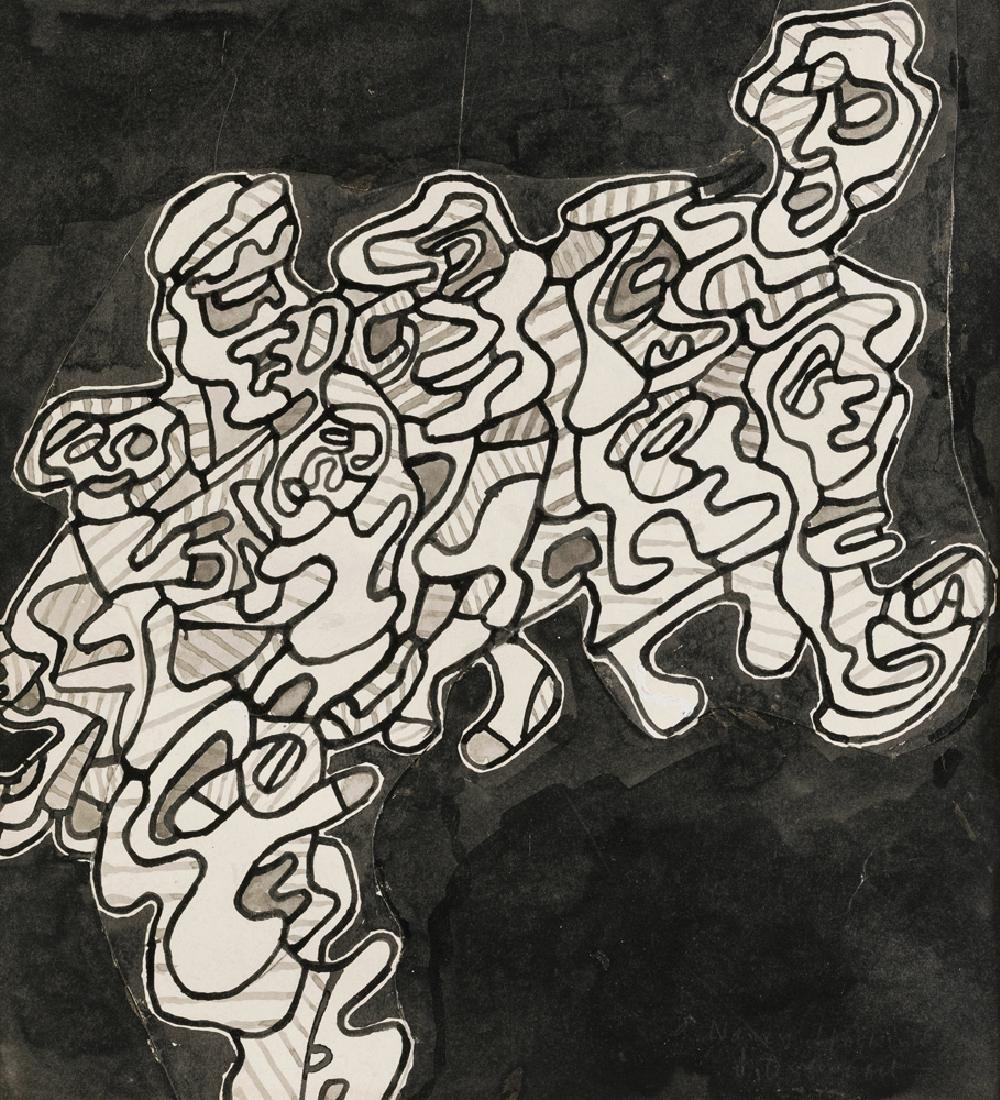 Jean Dubuffet (1901-1985 French)