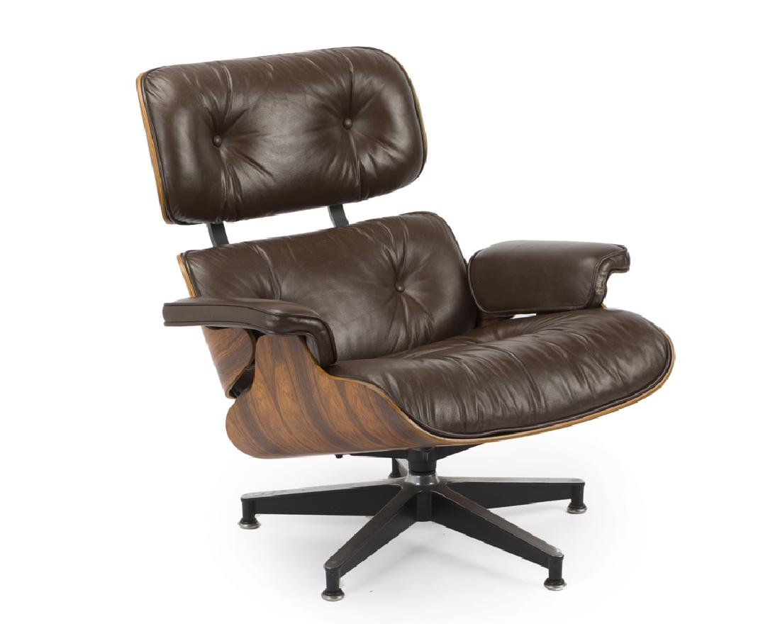 An Eames for Herman Miller lounge chair 670