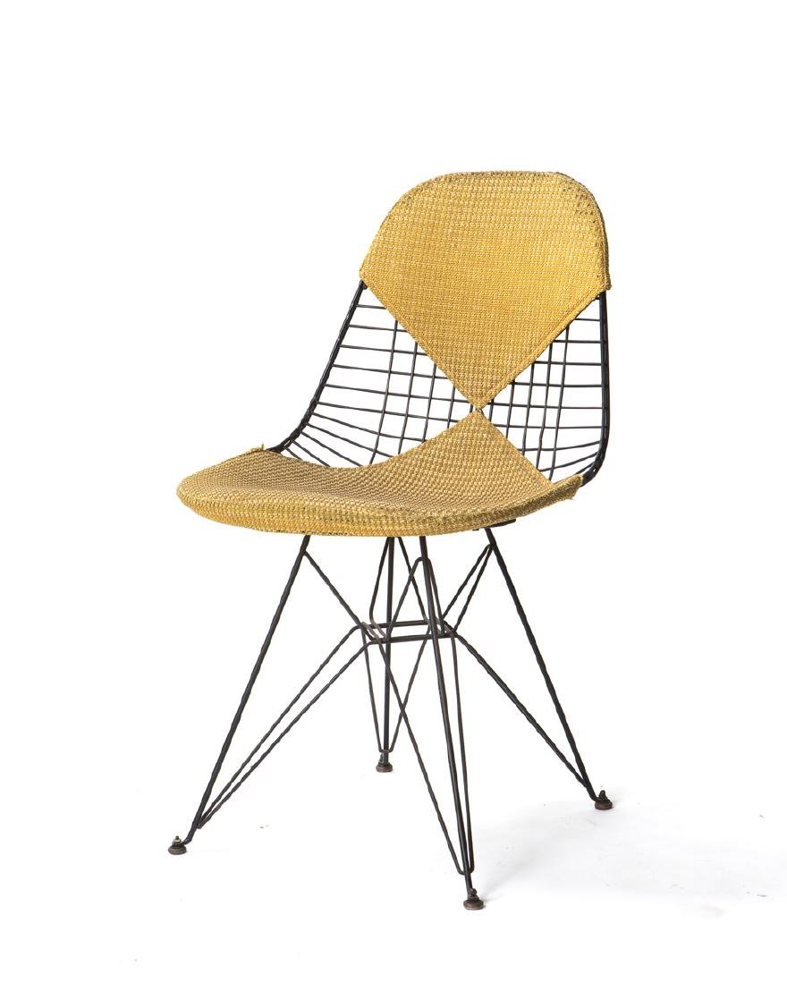 """An Eames for Herman Miller DKR """"Wire Mesh"""" chair"""