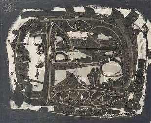 Antonio Saura (1930-1998 Spanish)