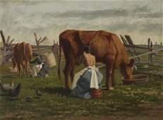 William Raphael (1833-1914 Canadian)
