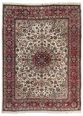 A Persian room size area rug