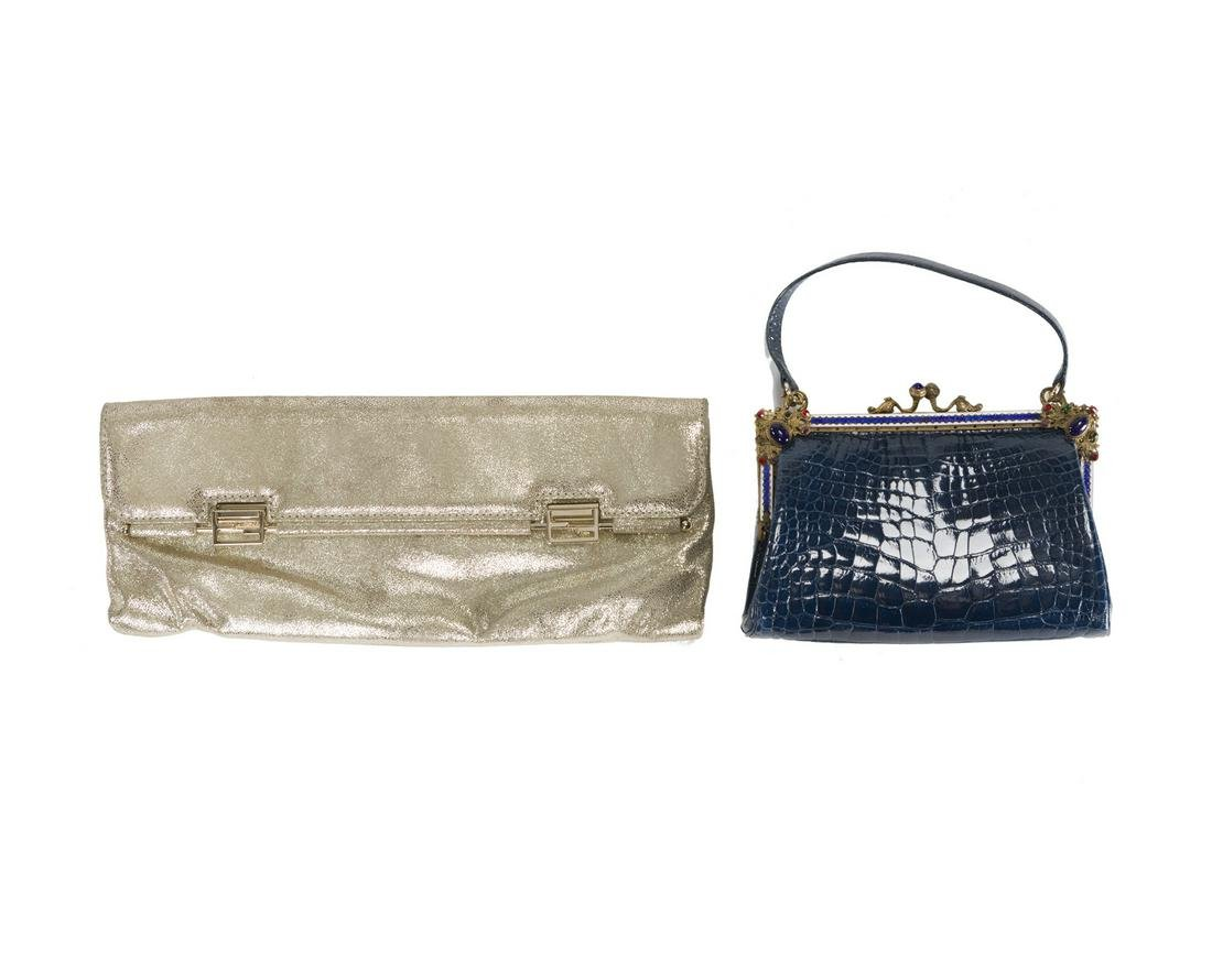 Two evening bags